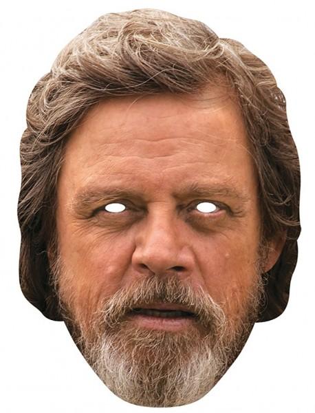 Luke Skywalker Papp-Maske fotorealistisch