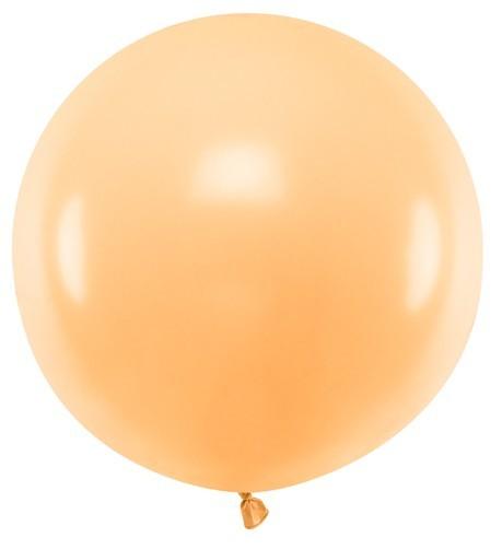 XL Ballon Partyriese apricot 60cm