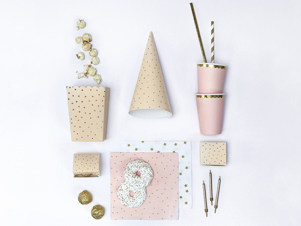 6 Cheerful Birthday Snack Boxen creme