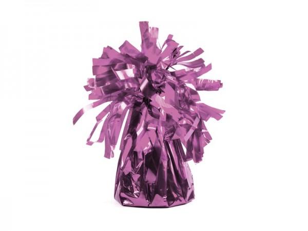Pesas de globos para globos de aluminio en rosa
