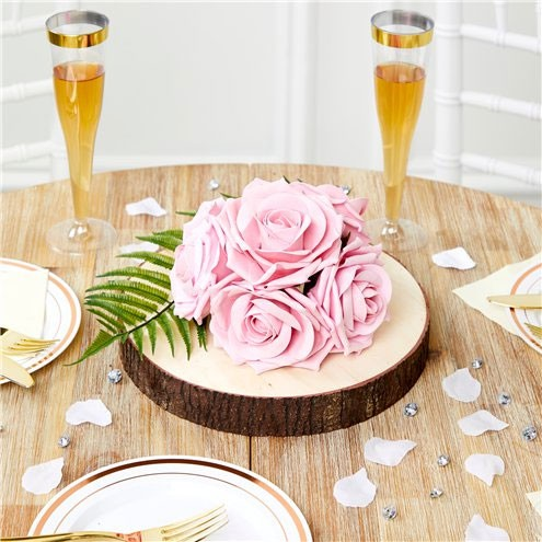 5 rose bouquets pink