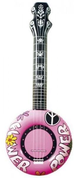 Aufblasbare Power Gitarre Pink
