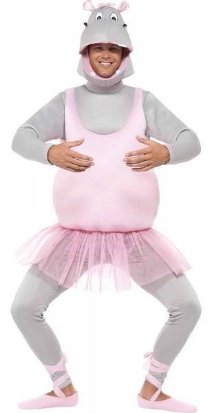 Nilpferd Ballerina Kostüm Für Erwachsene