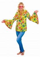 Herzblatt Hippie Damenbluse