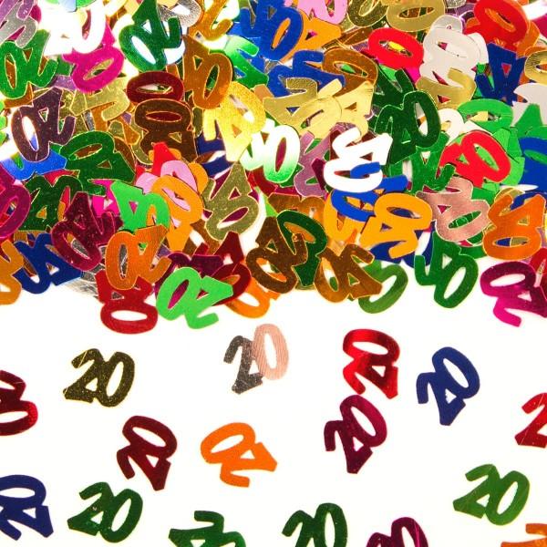 14g Streudeko numero multicolore 20