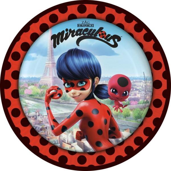 8 Miraculous Ladybug Teller 23cm