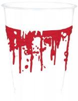 10 Bloody Hell Kunststoffbecher 400ml