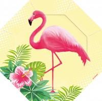 6 Flamingo Paradise Teller 18cm