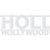 Glitzernde Hollywood Girlande 2,44m