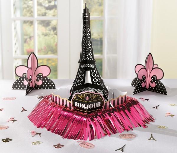 Tag in Paris Tischdekoration 23-teilig