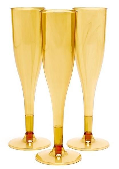 20 copas de champagne dorado Basel 162ml