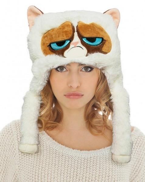Plüschmütze Grumpy Cat