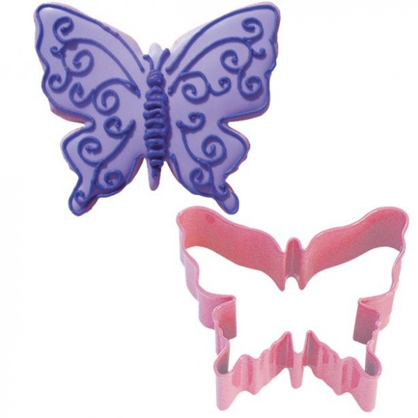 Butterfly cookie cutter 8cm