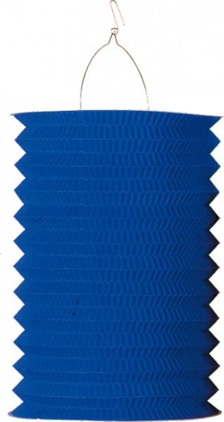 Farolillo de papel de color liso Autumn Blossom Azul real 28cm