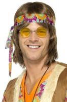 Funky Lazy Hippie Brille Gelb