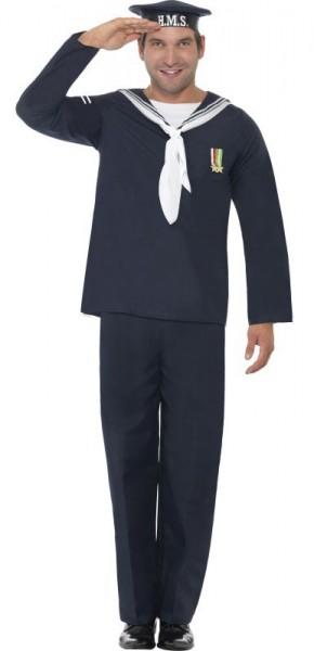 Offiziers Marine Herrenkostüm