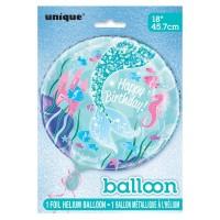 Geburtstagsballon Zauberhafte Meerjungfrau Sirena
