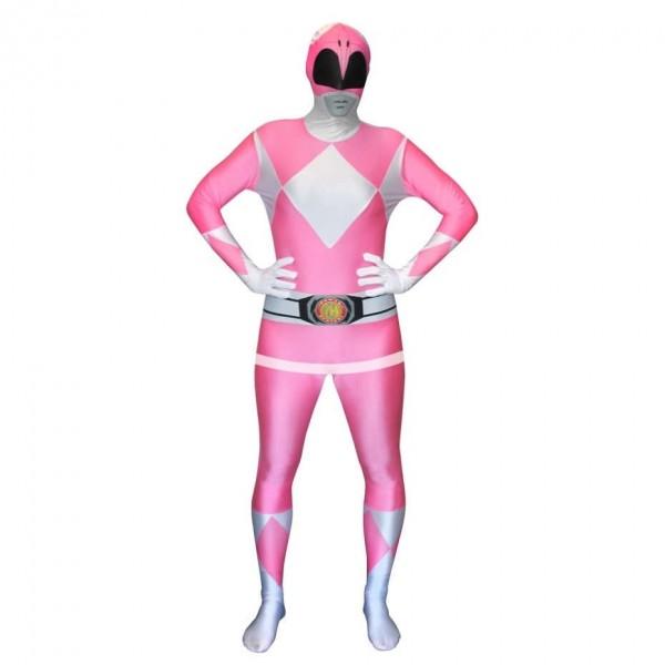Ultimate Power Rangers Morphsuit pink