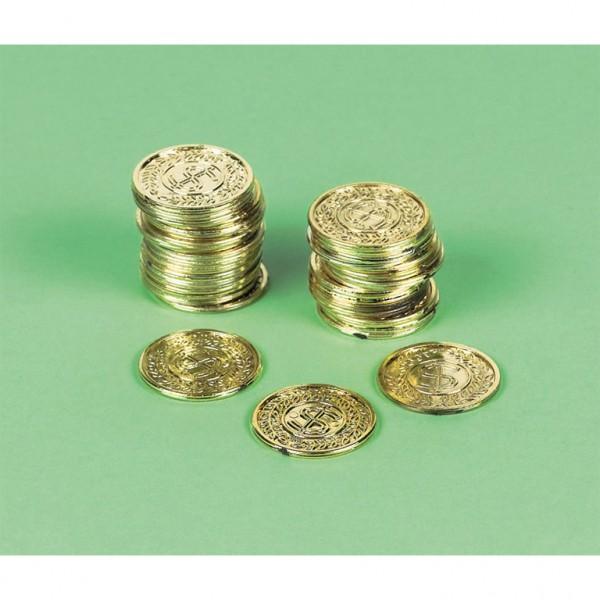 72 Störtebeker Goldmünzen