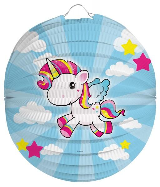 Unicorn Poppy Lampion 22cm