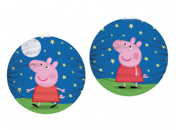 Lanterne ciel étoilé Peppa Pig 25cm