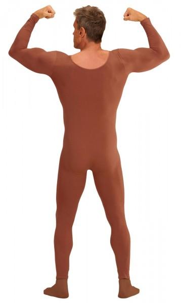 Body costume homme marron 3