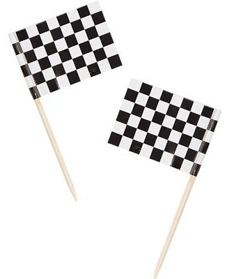 50 North Race Party Picker 6,4cm