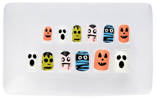 Halloween-nagels voor kinderen