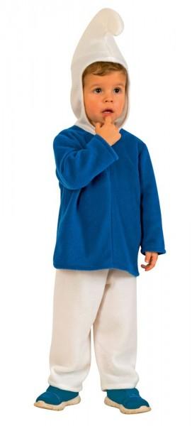Blaues Zwergen Kinderkostüm