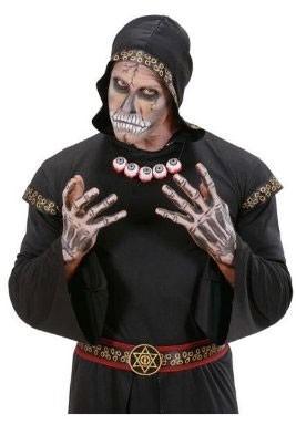 Halloween Horror Augen Halskette Gruselig