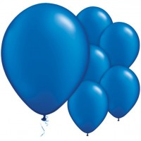 100 Royalblaue Luftballons Passion 28cm