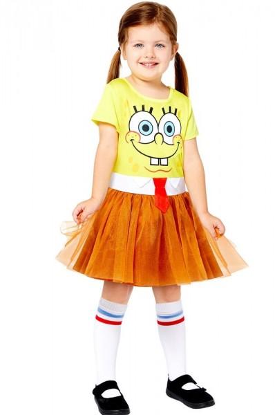 Spongebob Schwammkopf Mädchenkostüm