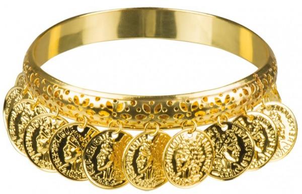 Goldenes Belly Dance Armband