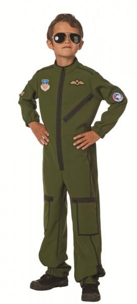 Armeepilot Kinderkostüm