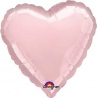 Herzballon Linda in Hellrosa