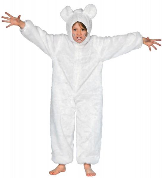 Biały kombinezon dziecięcy niedźwiedzie polarne Knutus
