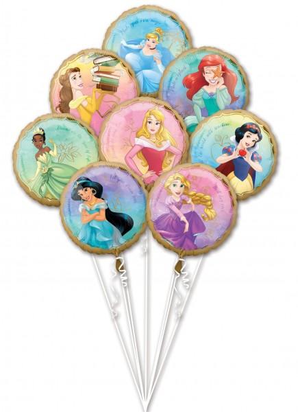 Disney Princess Ballon Bouquet 8-teilig