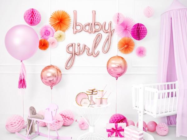 Globo de lámina para bebé oro rosa 73,5 x 73,5 cm 3