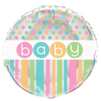 Folienballon Pastell Träume Baby Party