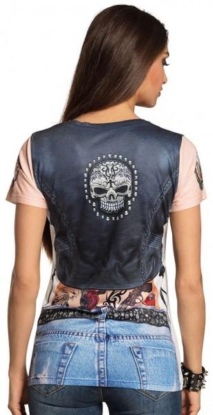 Camicia 3D Biker Jenny