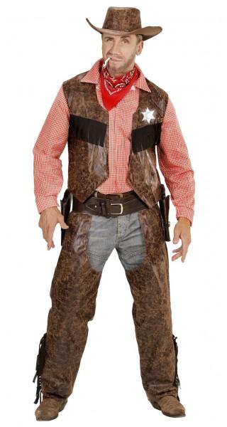 Sheriff Herrenkostüm Bronco