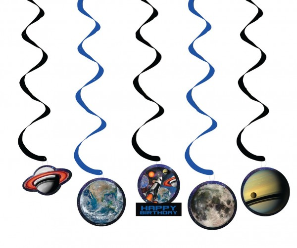 5 cintres en spirale de navette spatiale