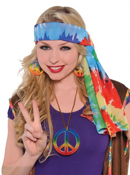 Knallbuntes Hippie Kopftuch