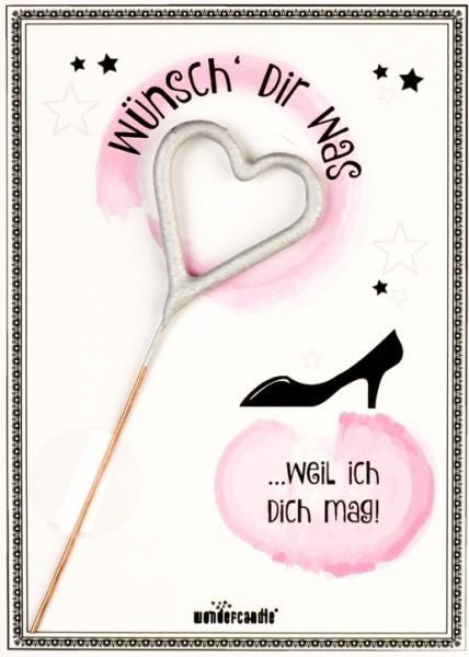 Wünsch dir was Wondercard rosa