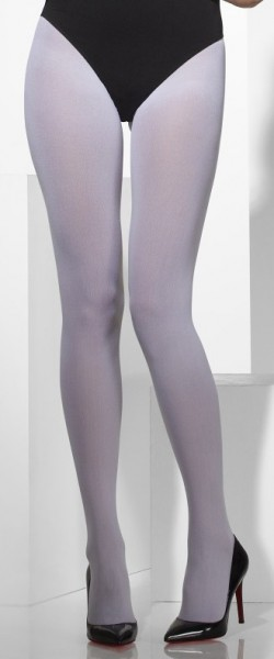 Collants fins blancs Snowia