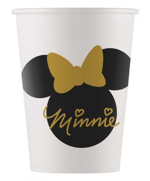 8 Minnie Mouse Goldstar Becher 160ml