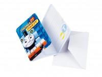 Thomas Die Kleine Lokomotive Einladungskarte 6 Stück