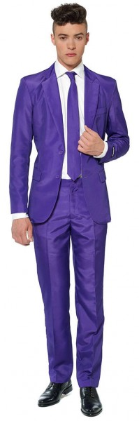 Suitmeister Partyanzug Solid Purple