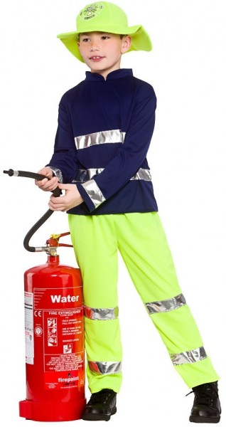 Brandweerman Fritz kostuum kind