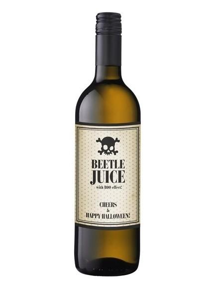 Étiquette de bouteille Jus de coléoptère 9,5 x 12,5 cm